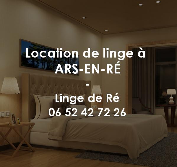 Location de linge à Ars-en-Ré