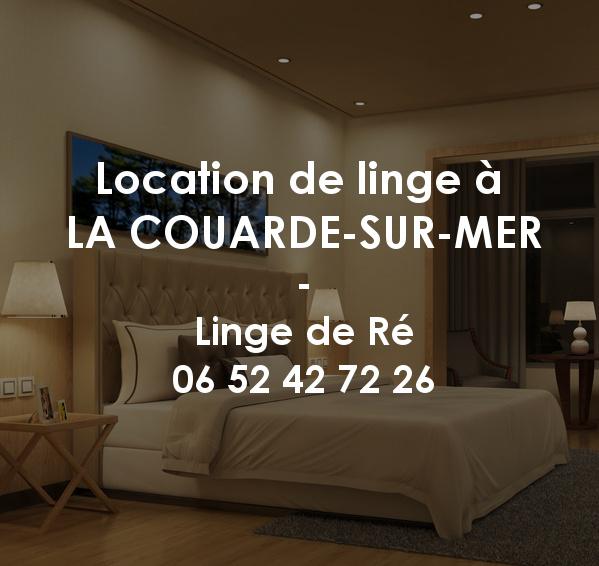 Location de linge à La Couarde