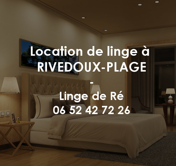 Location de linge à Rivedoux-Plage