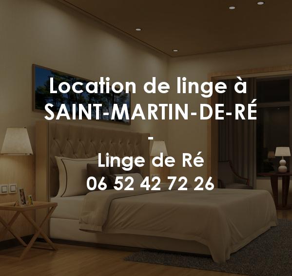 Location de linge à Saint-Martin-de-Ré