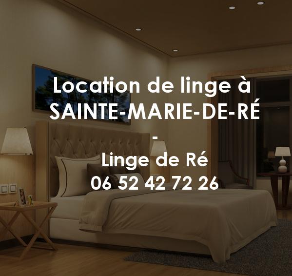 Location de linge à Sainte-Marie-de-Ré
